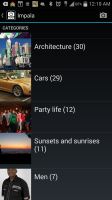 Impala - Categories 2