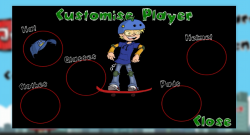 Jumpy Skater - Customize Player 2