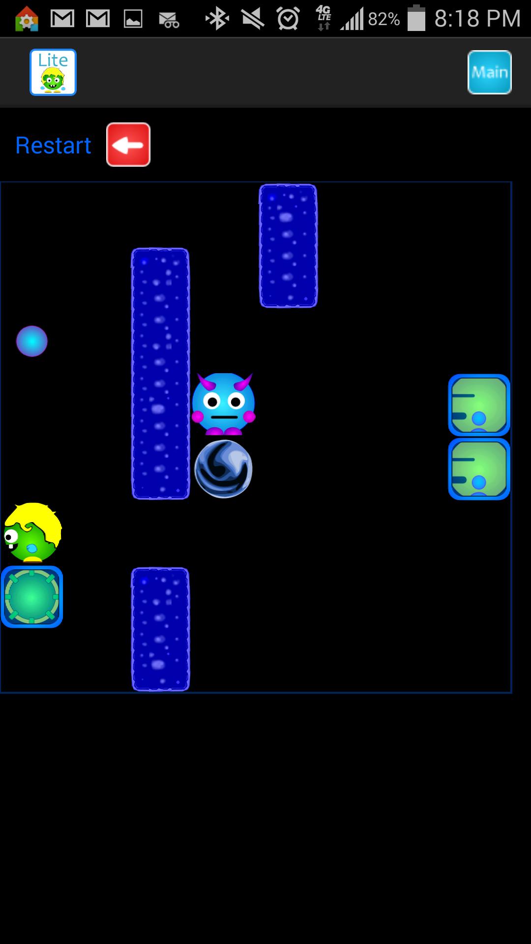 Little Green Baby Genius - Gameplay 1