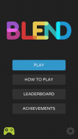 Blend The Game - Start Screen