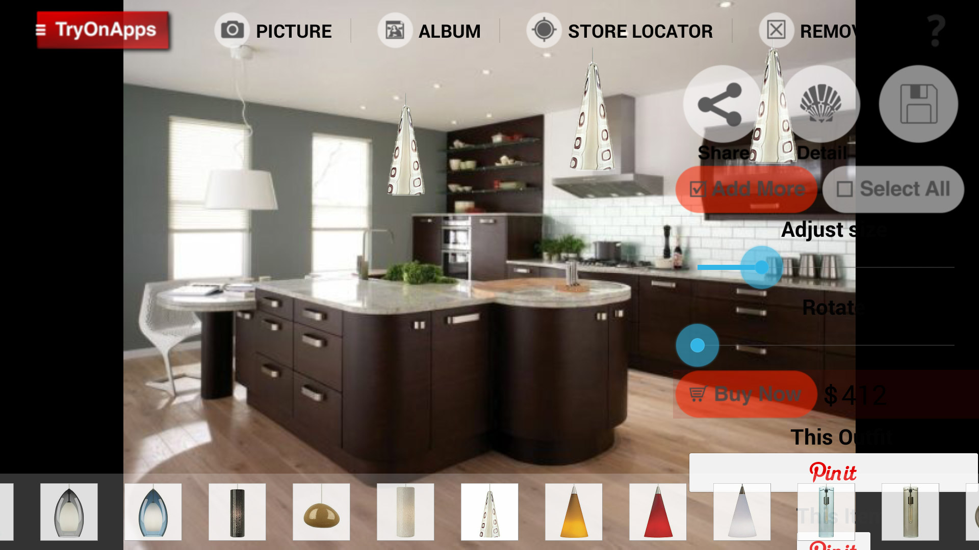 Virtual Decor Interior Design - a virtual interior decoration app ...