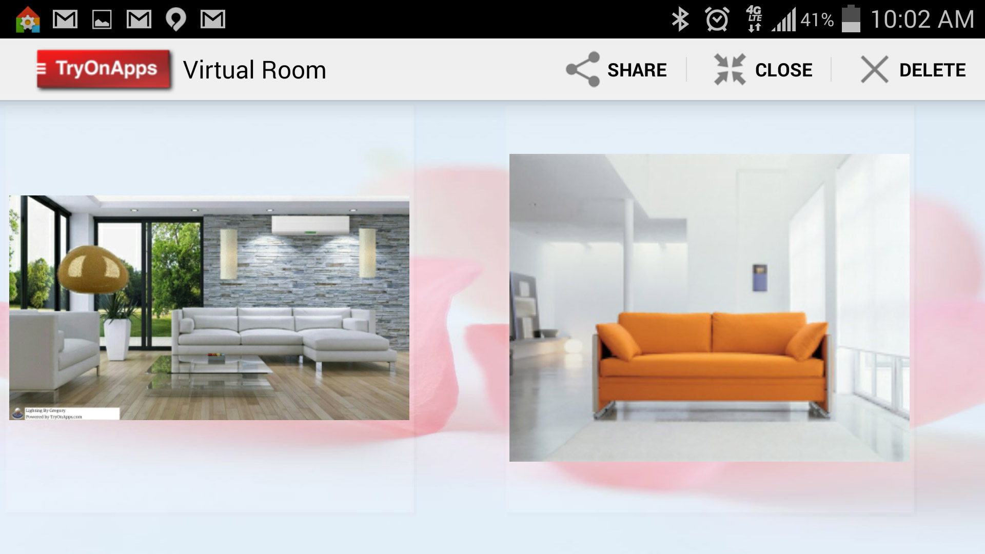 Virtual Decor Interior Design Saved Virtual Rooms