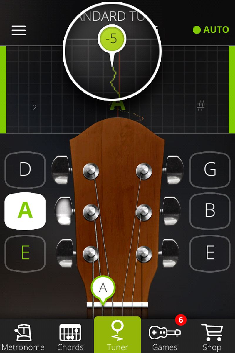 guitar tuner free guitartuna androidtapp. Black Bedroom Furniture Sets. Home Design Ideas