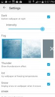 Weatherback Wallpaper - Settings 3