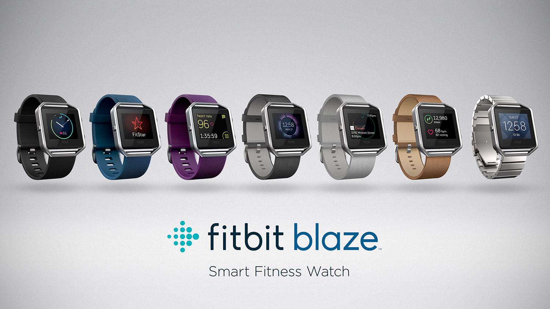 Fitbit Blaze Lineup