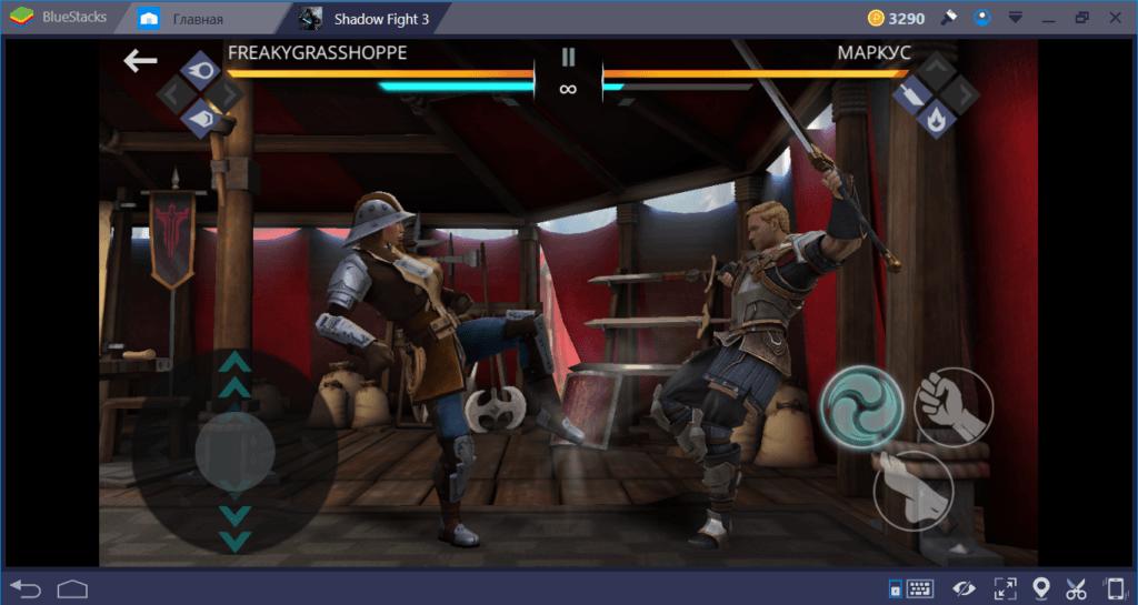 Shadow Fight 3: как драться без оружия в стиле Легиона