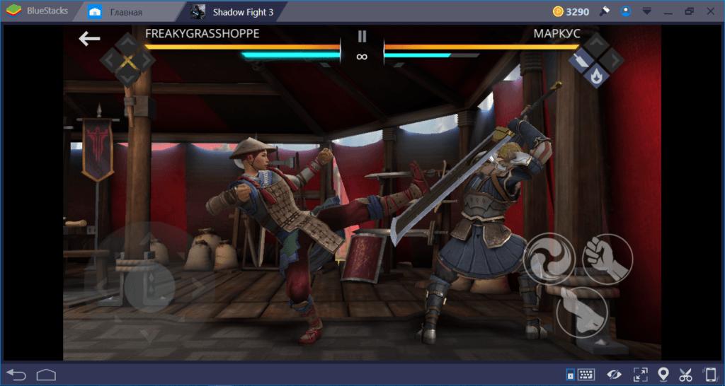 Shadow Fight 3: как драться без оружия в стиле Династии