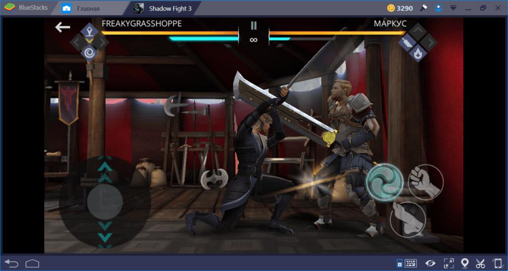 Shadow Fight 3: как драться катаной