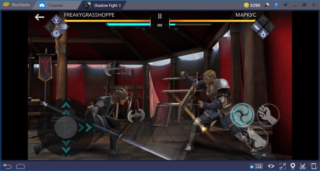 Shadow Fight 3: как драться глефой