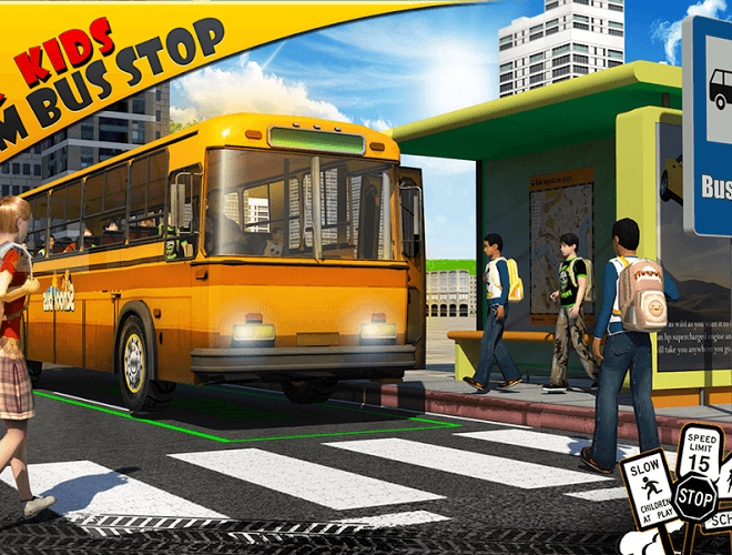 Play School bus Driver 3D on PC 12