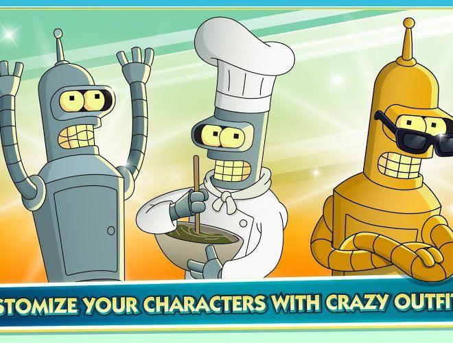 Play Futurama: Worlds of Tomorrow on PC 11