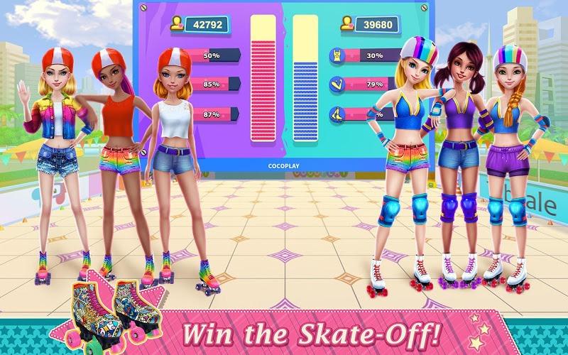Play Roller Skating Girls – Dance on Wheels on PC 6