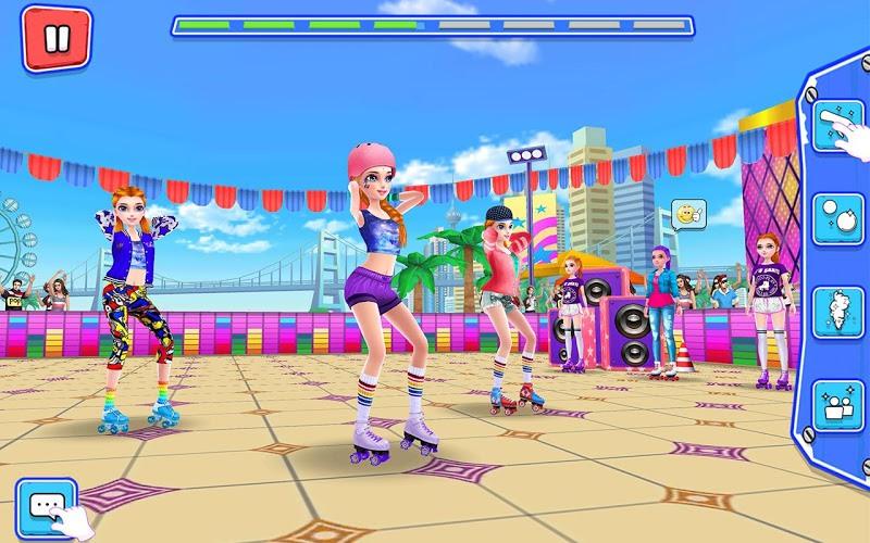 Play Roller Skating Girls – Dance on Wheels on PC 8