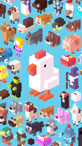 เล่น Crossy Road on PC 8