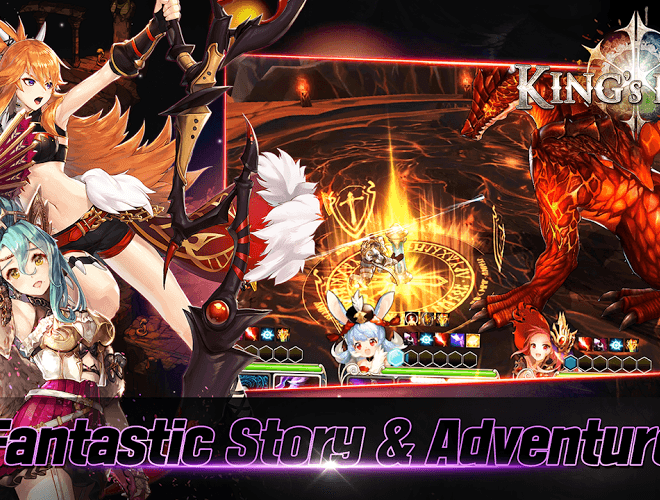Play King's Raid on PC 4