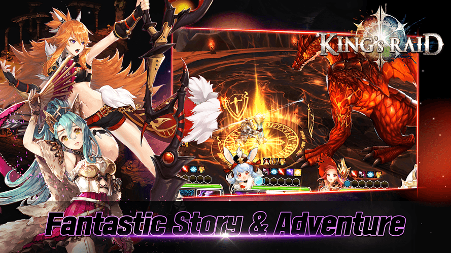 Play King's Raid on PC 4