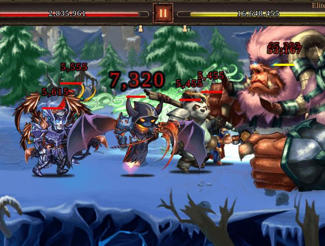 Играй Epic Heroes War Великие войны На ПК 7