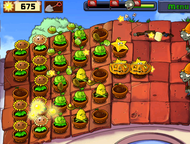 เล่น Plants vs Zombies on PC 9
