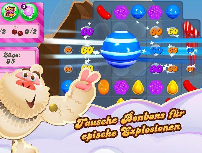 Spielen Candy Crush on pc 10