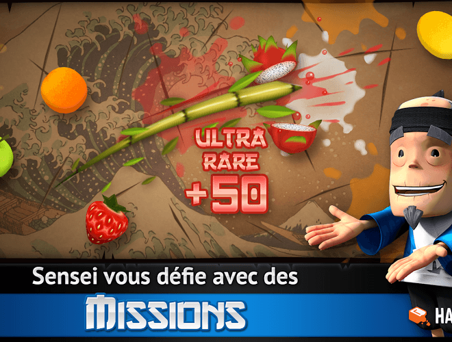 Joue Fruit Ninja Free on pc 5