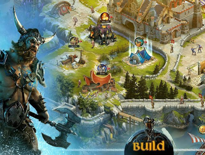 Play Vikings War of Clans on PC 3