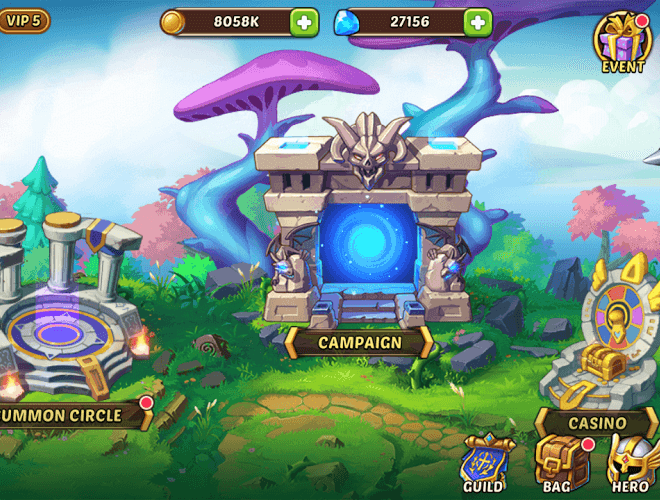 Play Idle Heroes on PC 23