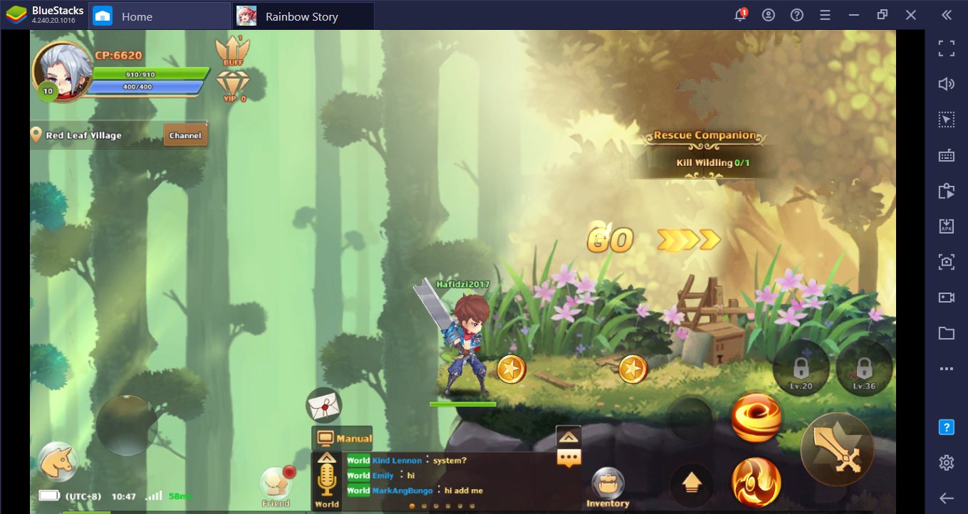Panduan Lengkap Cara Mudah Main Rainbow Story: Fantasy MMORPG di PC
