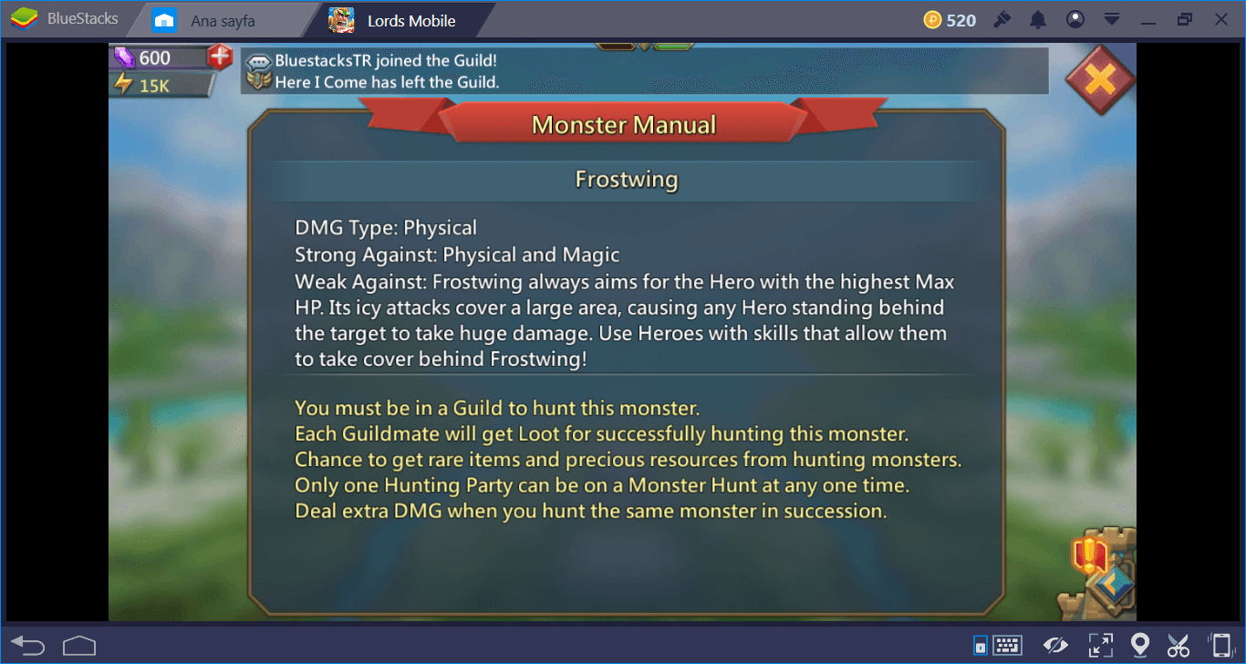 Lords Mobile: What is Monster Hunt and What are the Returns?