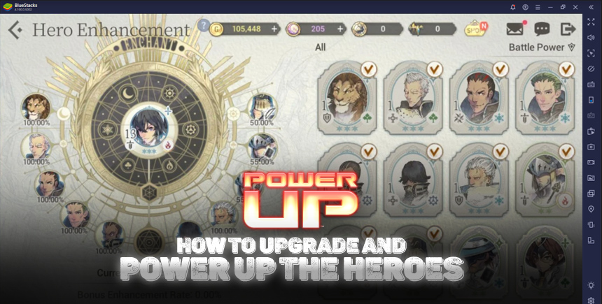 Exos Heroes – How to Upgrade and Power Up Your Heroes