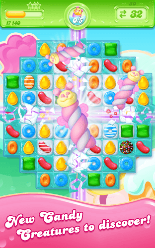 เล่น Candy Crush Jelly Saga on PC 11