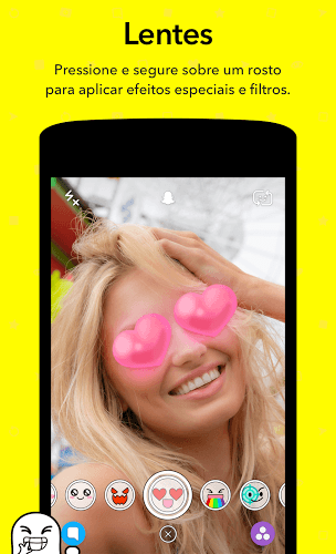 Jogue Snapchat app on pc 7