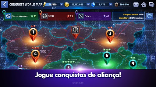 Jogue MARVEL Future Fight para PC 22