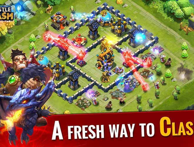 Spustit Castle Clash on PC 3