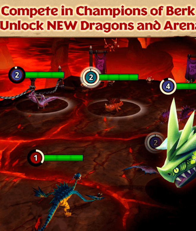 Играй Dragons: Rise of Berk На ПК 11
