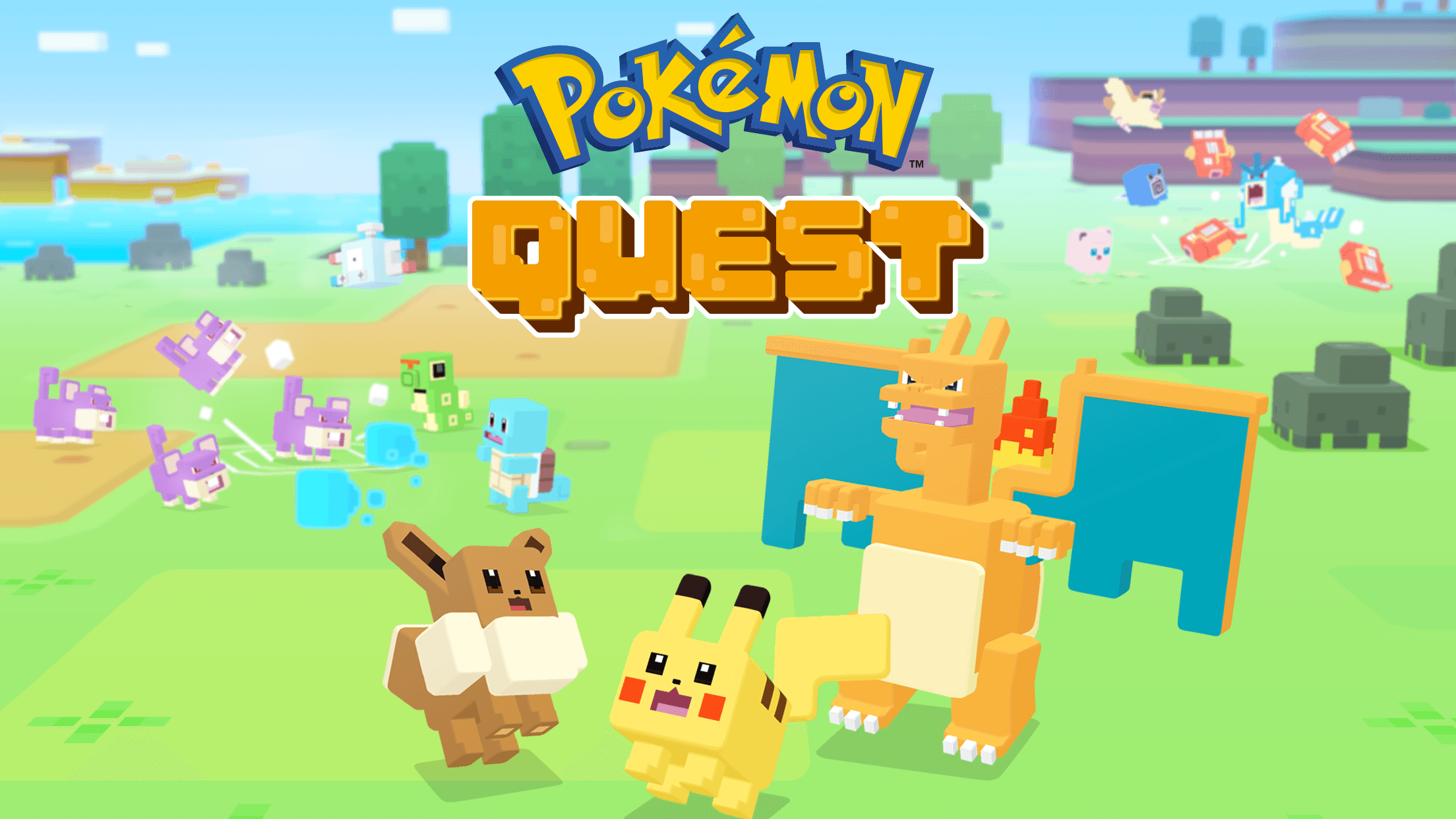 Download Pokemon Quest on PC with BlueStacks