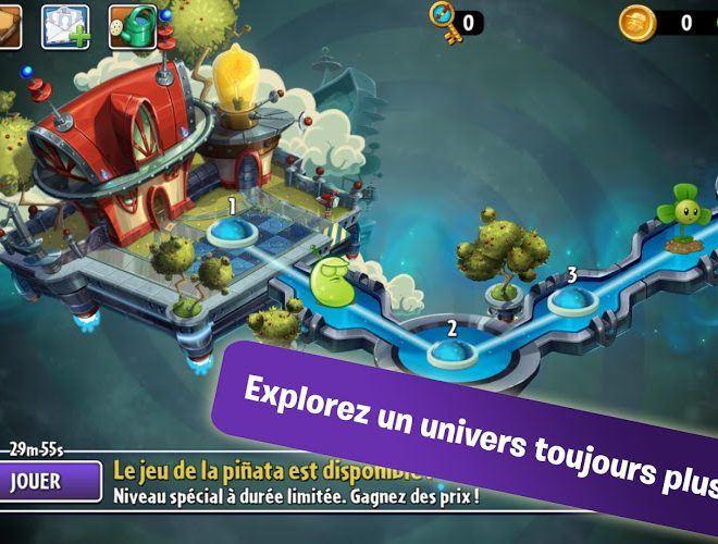 Jouez à  Plants vs Zombies 2 sur PC 3