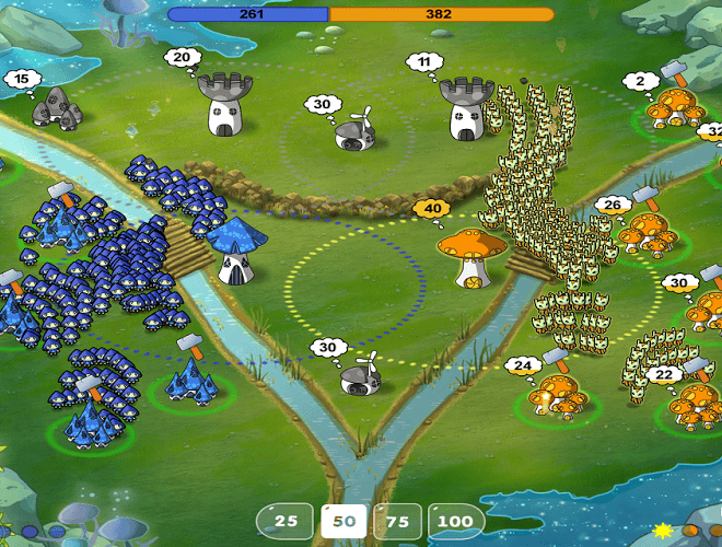 เล่น Mushroom Wars: Space! on pc 22