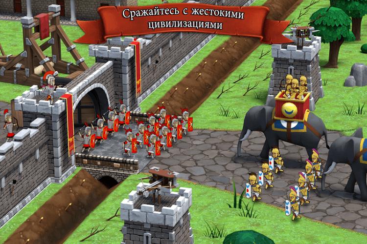 Играй Grow Empire: Rome На ПК 5