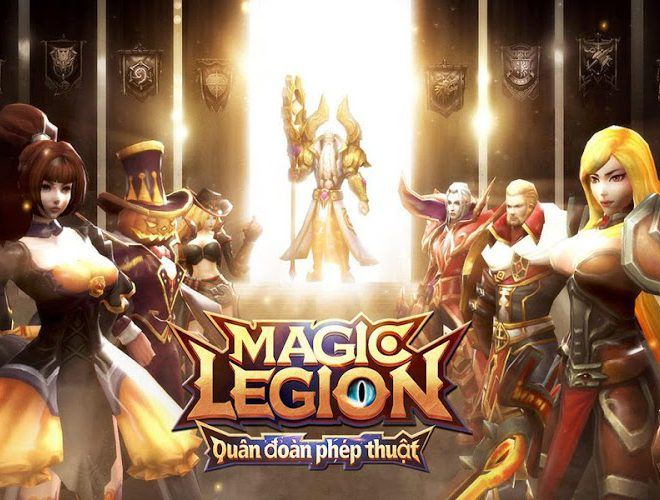 Chơi Magic Legion – Age of Heroes on PC 13