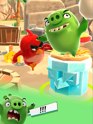 Играй Angry Birds Action На ПК 9