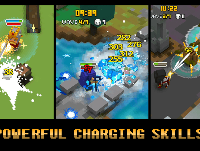 Play Cube Knight: Battle of Camelot on PC 4