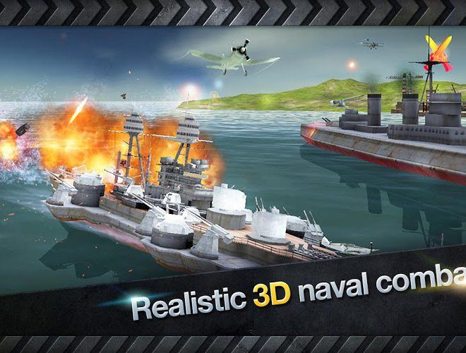Chơi Warship Battle World War II on pc 5