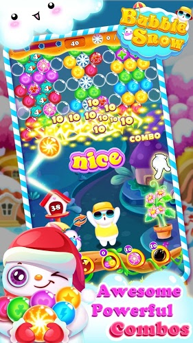 Play Bubble Snow on pc 8