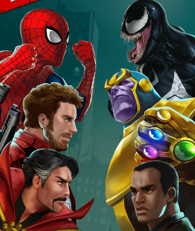 Играй Marvel Puzzle Quest На ПК 17