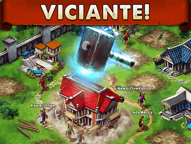 Jogue Game of War on pc 9