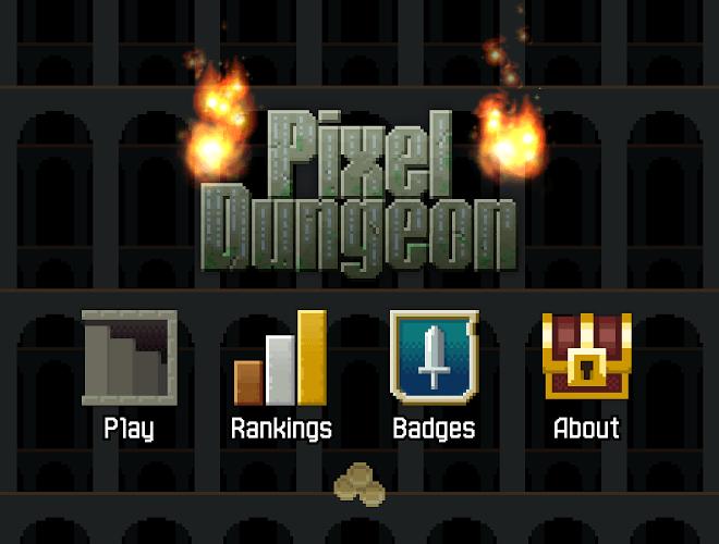 Играй Pixel Dungeon На ПК 10
