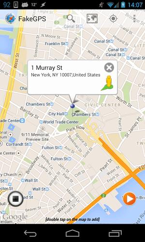 เล่น Fake GPS Location Spoofer Free on pc 16