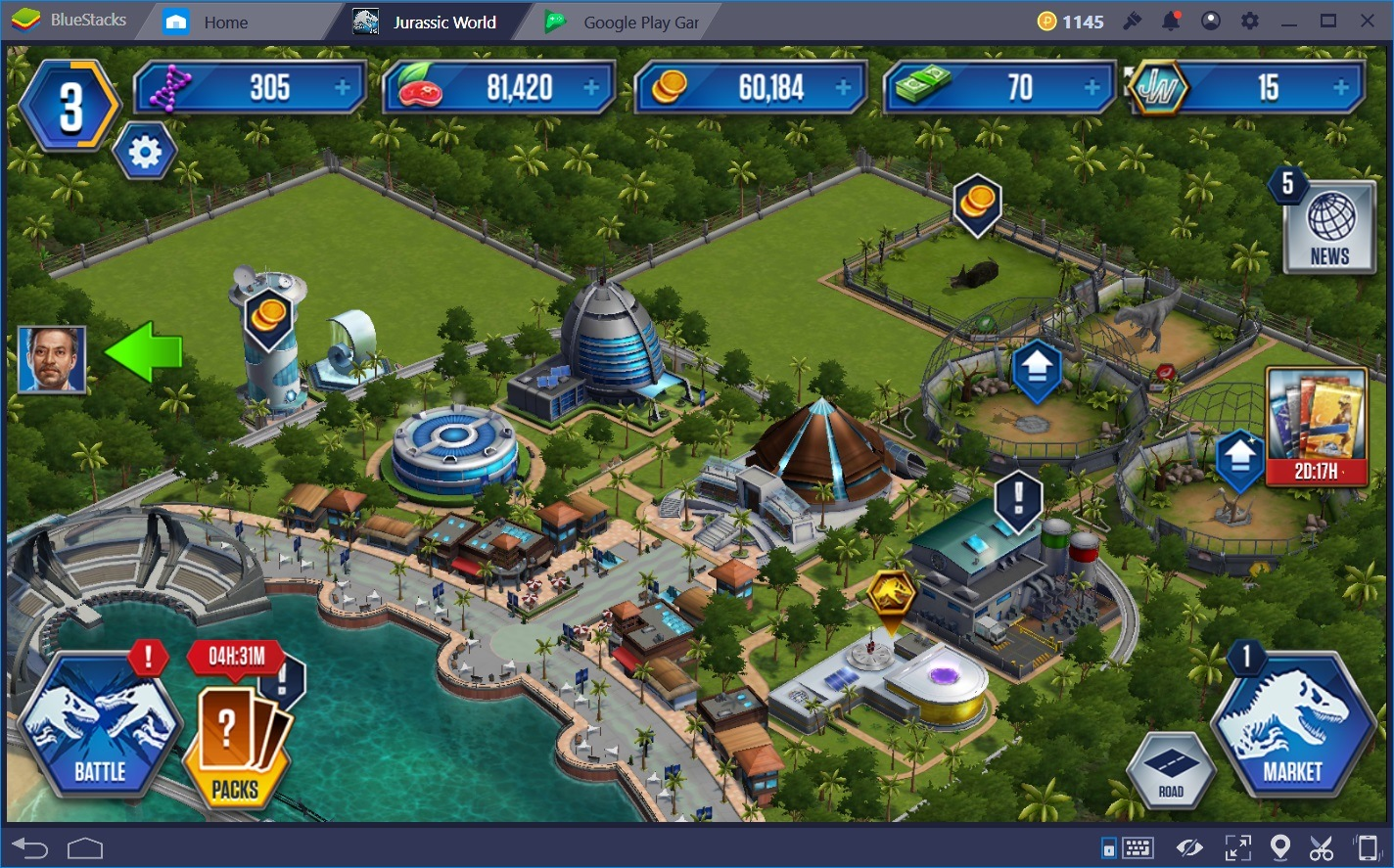 Getting Started in Jurassic World: The Game | BlueStacks