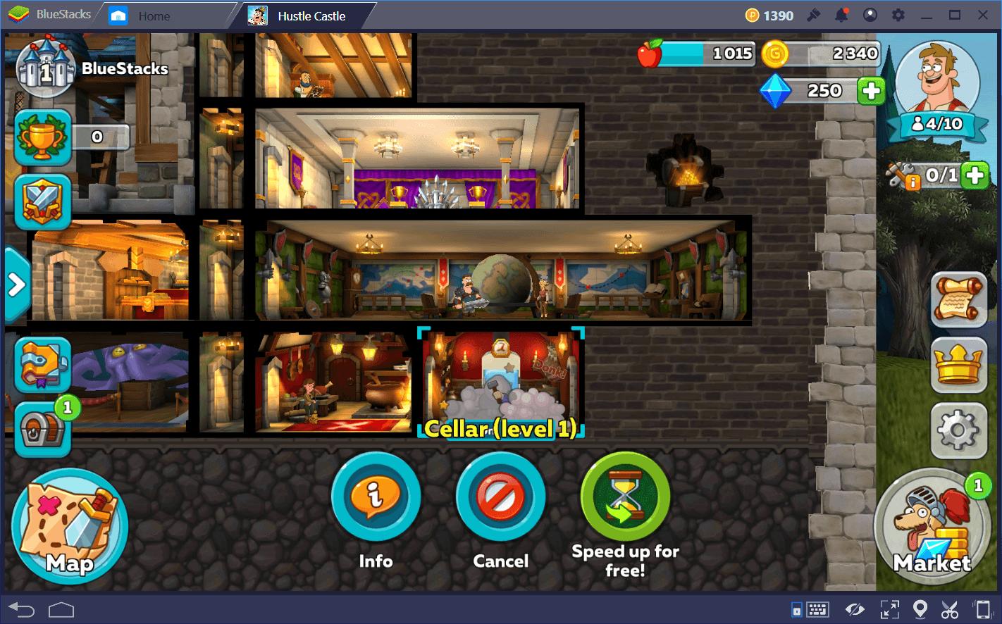 Hustle Castle: Fantasy Kingdomhack astuce et triche