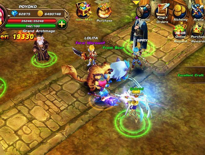 เล่น Eden Avalon Legends on PC 2